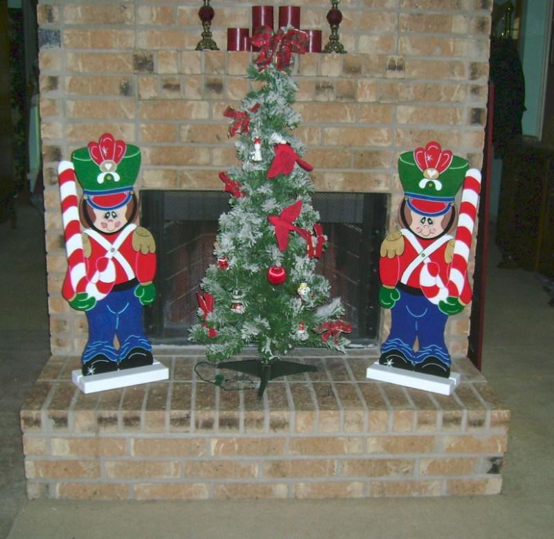 Christmas Carolers Wood Outdoor Yard Art By Chartinisyardart: Wooden Christmas Yard Decorations Houston