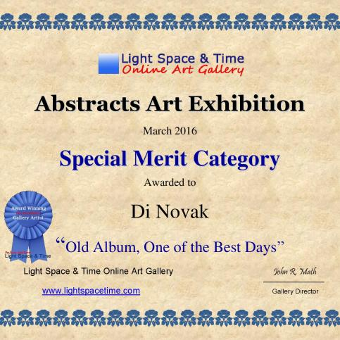 SM - Di Novak - Old album, One of the Best Days - CERTIFICATE-page-001