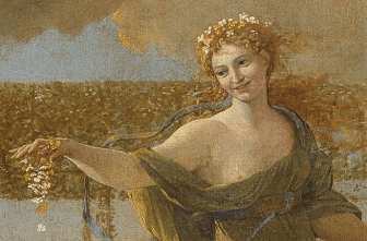 Nicolas Poussin, The Empire of Flora, 1631, Detail