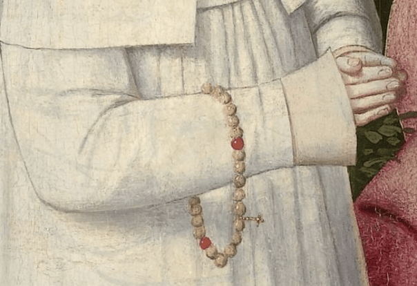 Geertgen tot Sint Jans, The Tree of Jesse, c. 1500. Detail
