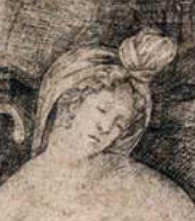 1495-1516 Jacopo de Barbari, Cleopatra British Museum, London. Detail