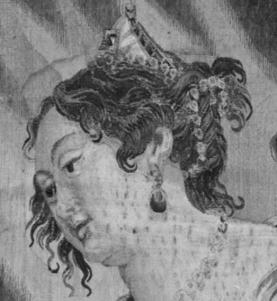 1650-77, Justus van Egmont, Cleopatra Asked to Pay Tribute to Rome, Metropolitan Museum of Art. Detail