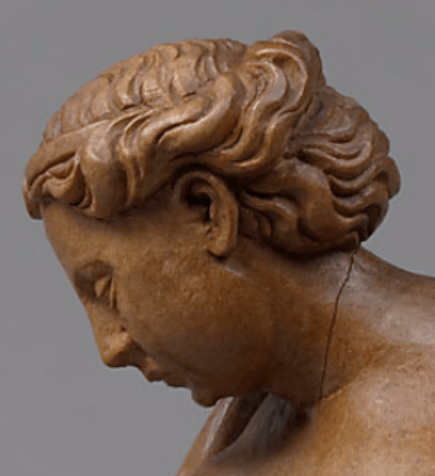 с.1550, Hans Peisser, Сleopatra, Kunsthistorisches Museum, Vienna. Detail