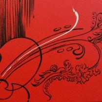 Crying / Hope, 55x60 cm, acryl, canvas