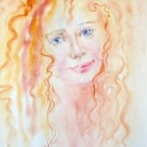Melancholia, 70x50 cm, watercolor, alla prima
