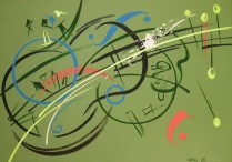 DobroArt, 50x70 cm, acryl, canvas, 2014
