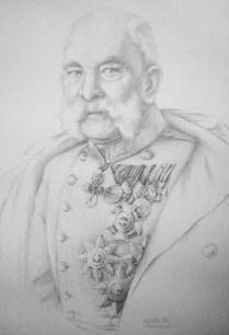 Franc Josef, pencil