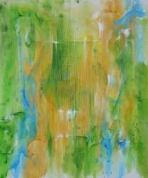 Lira, 2008, 64x54cm, Acryl, canvas