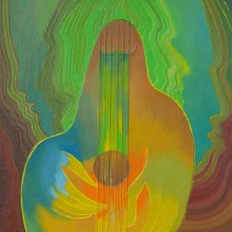 Weeping strings, 60x55 cm, oil, canvas, 2005