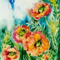 Take-off, 45x30 cm, watercolor