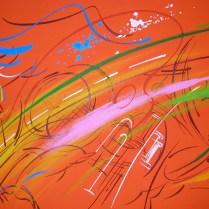Rock-n-roll, 50x70 cm, acryl, canvas