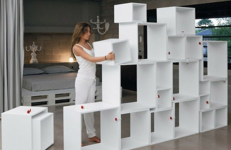Créer une bibliothèque séparation de pièce