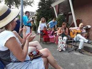 Flamenco optreden Straatfeest1