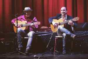 flamenco optreden trio