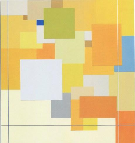 MARCO CASENTINI - Estate indiana, 2008, acrilico e plexiglas, 140x130cm