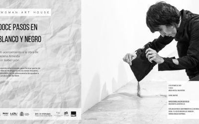 Doce pasos en blanco y negro, una aproximación a la obra de Helena Almeida por Isabel León en el Museo Vostell Malpartida