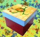 Caja Gatito u otros animales Medidas: 11x11x7cm S/.35.00