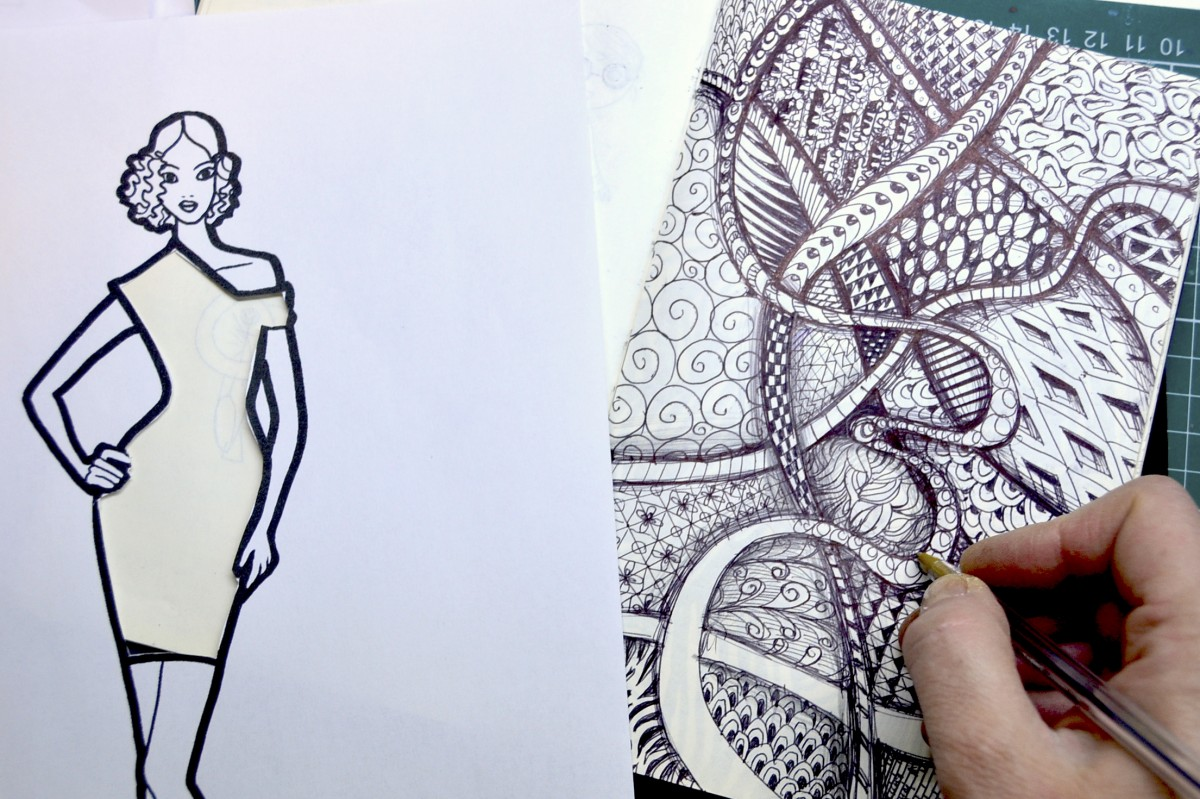 Fashion Design With Textures Worksheets And 5 Activities