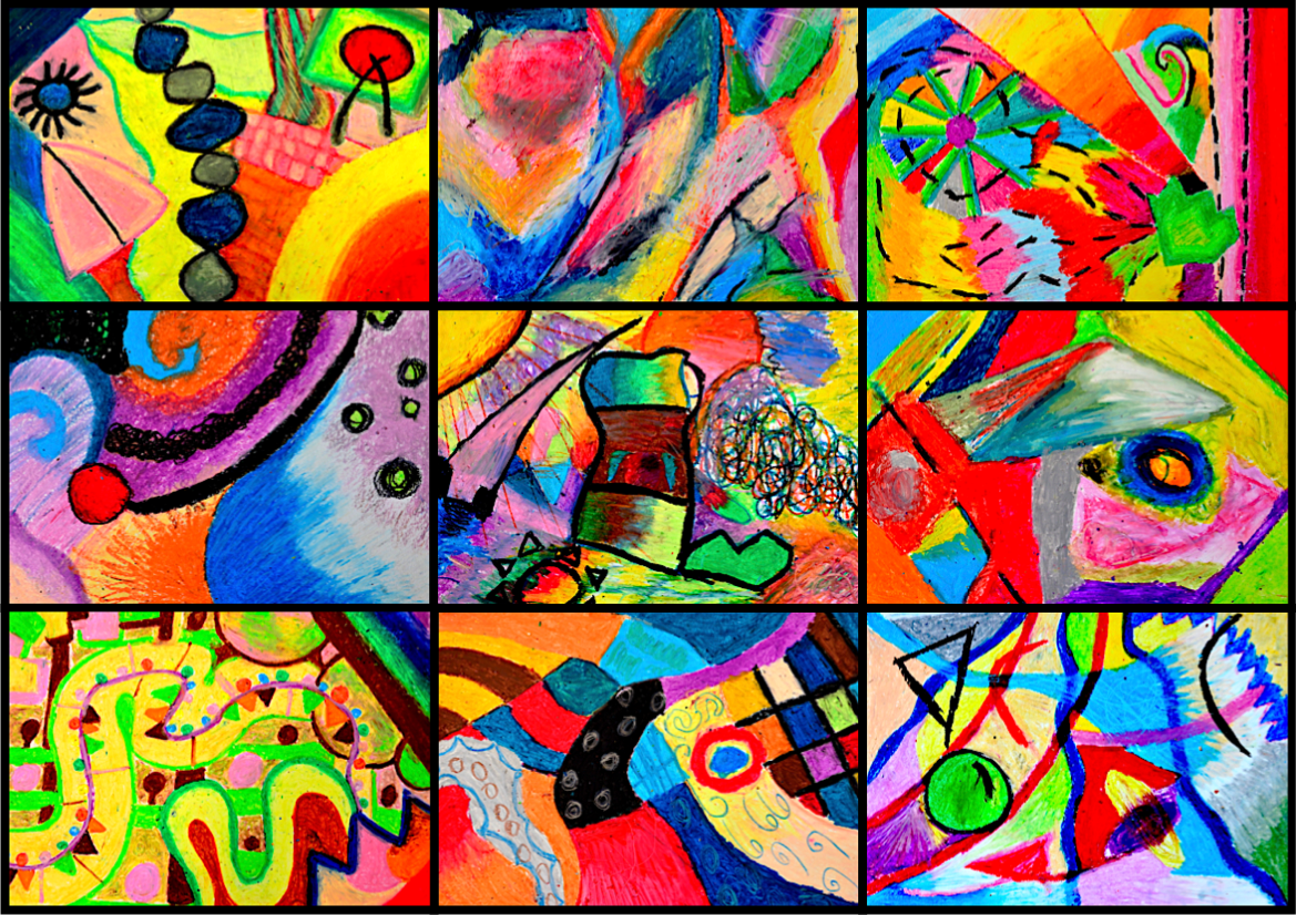 Emotions In Abstract Compositions