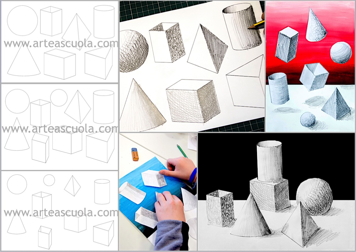 Shading Forms 3 Worksheets