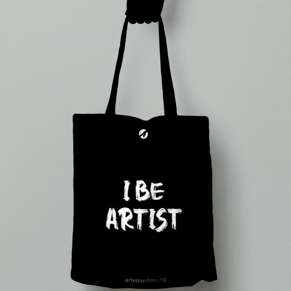 "Arteasy ""i be artist"" tote bag"