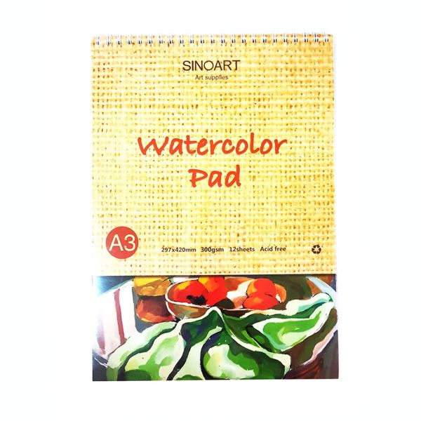 sinoart watercoloue pad A3