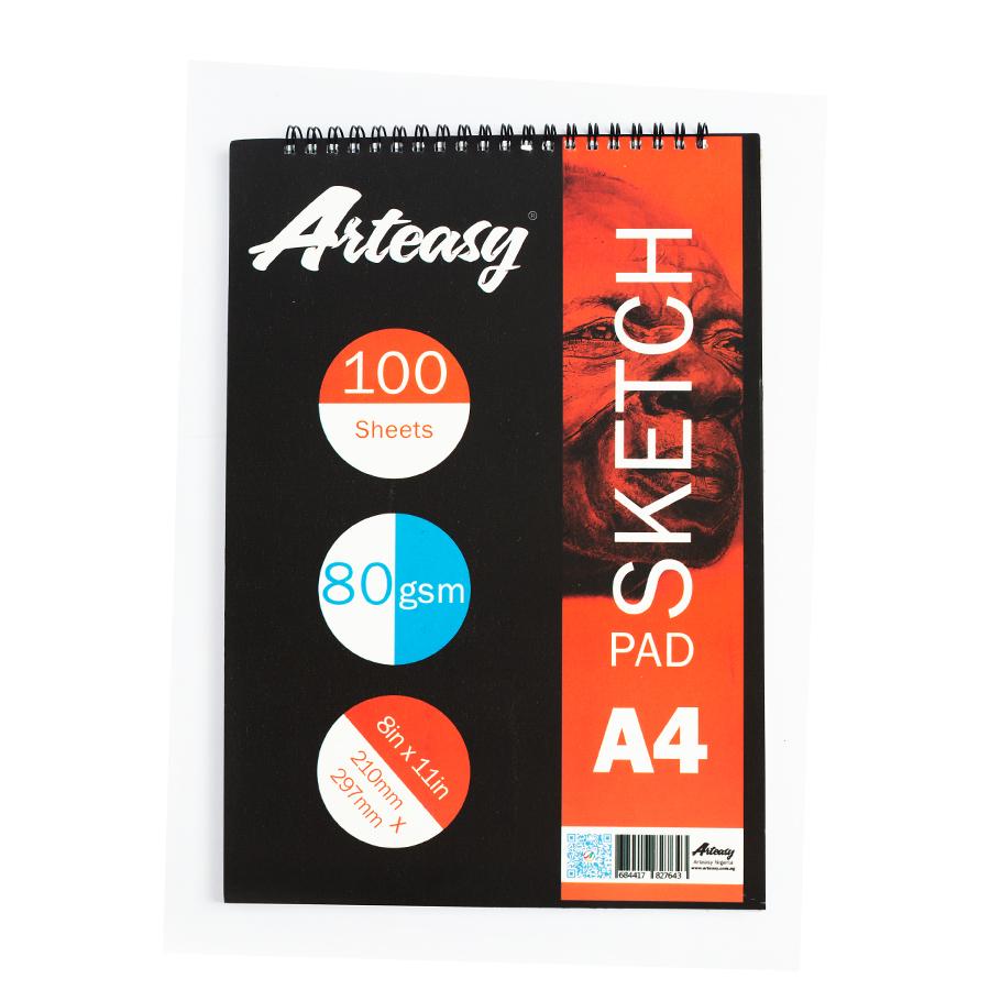 Arteasy sketchpad A4 100 sheets