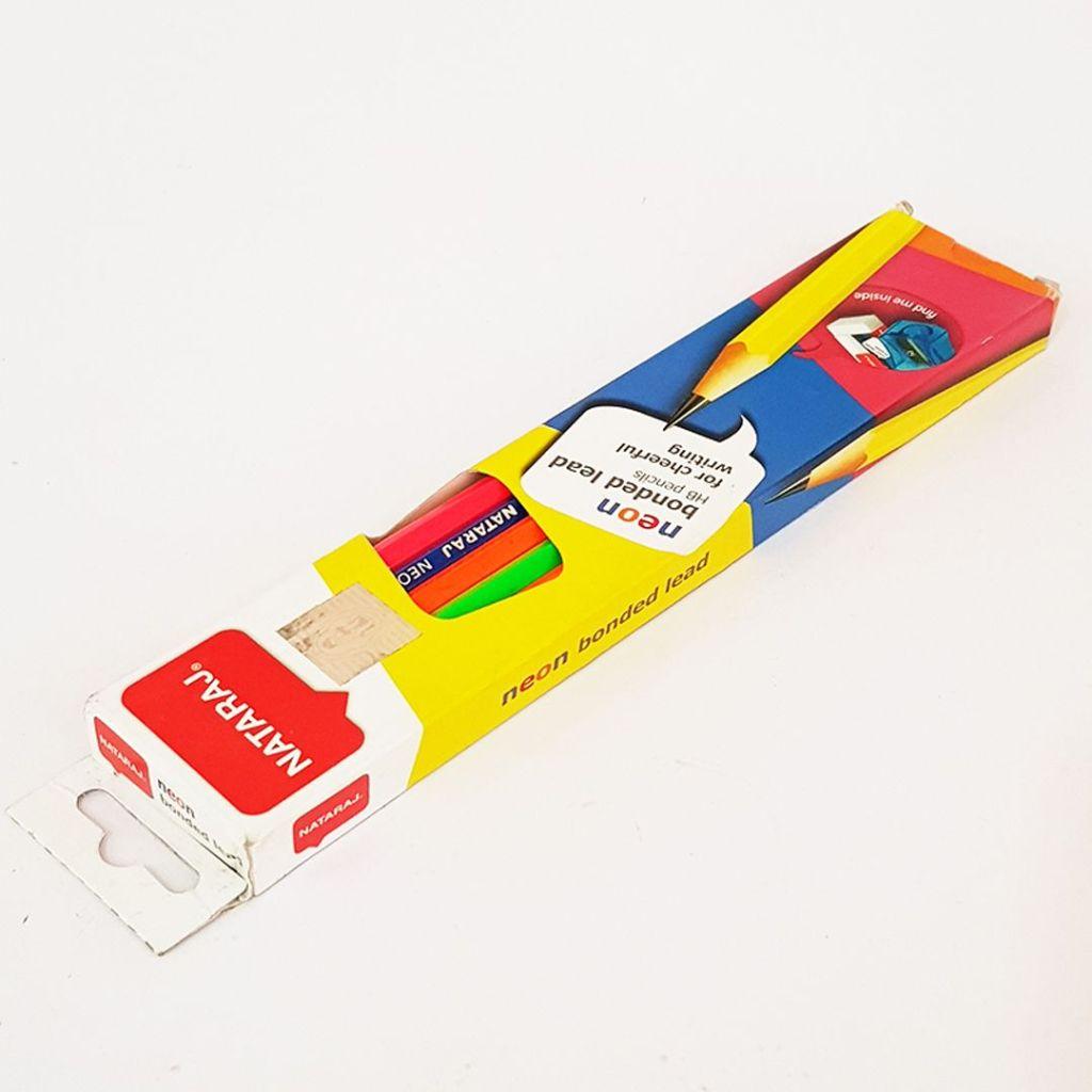 nataraj neon bonded lead pencils