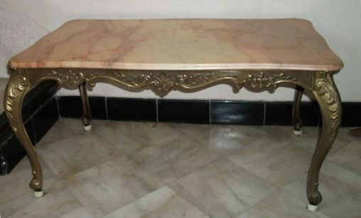 table basse style louis xv