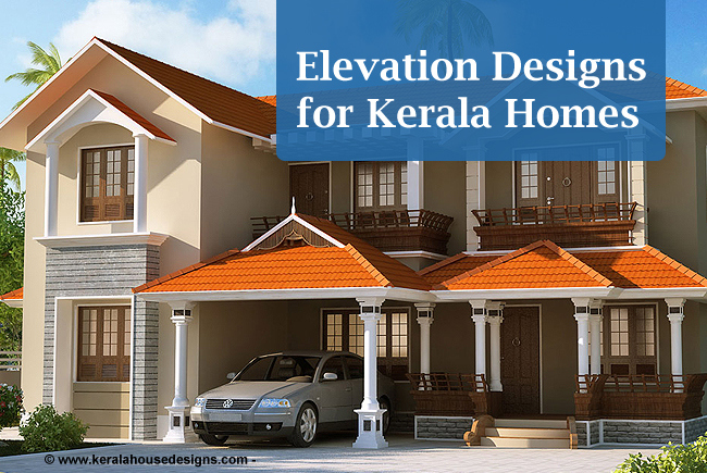 Kerala Homes Elevation Designs