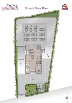 Artech Sanam, Trivandrum Layout : Ground Floor Plan