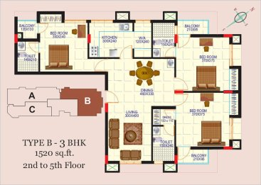 Artech Alliance, Sreekaryam Layout Type - B4