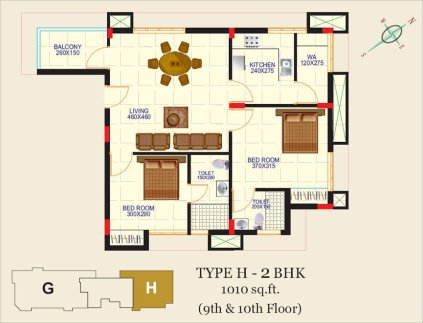 Artech Alliance, Sreekaryam Layout Type - H1
