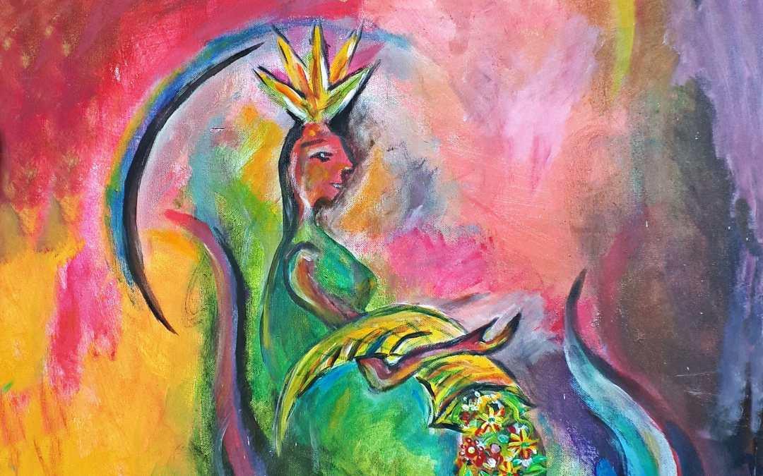 Keleia – Keltische Fruchtbarkeitsgöttin, Schutzgöttin von Slowenien