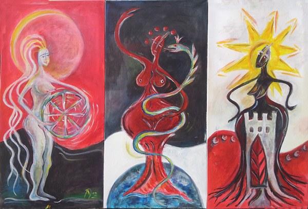 Die dreifache Göttin