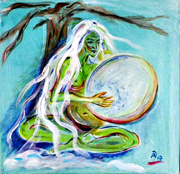 Ayisyt – Sibirische schamanische Geburts- und Fruchtbarkeitsgöttin