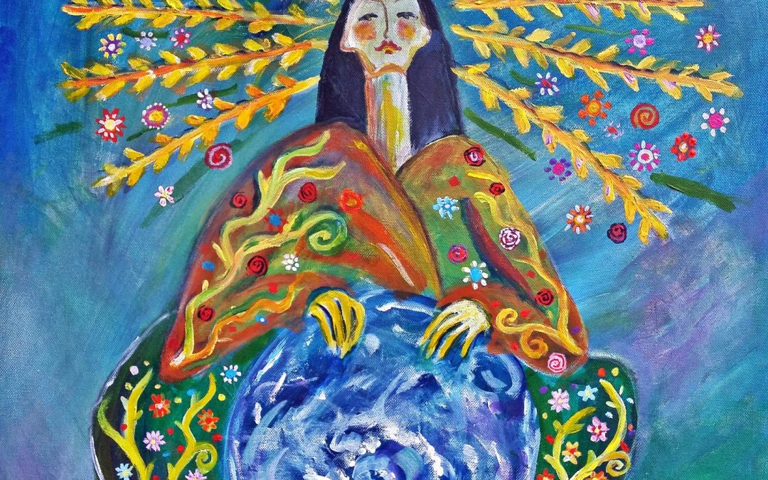 Eithinoha –  Erdgöttin der IrokesInnen