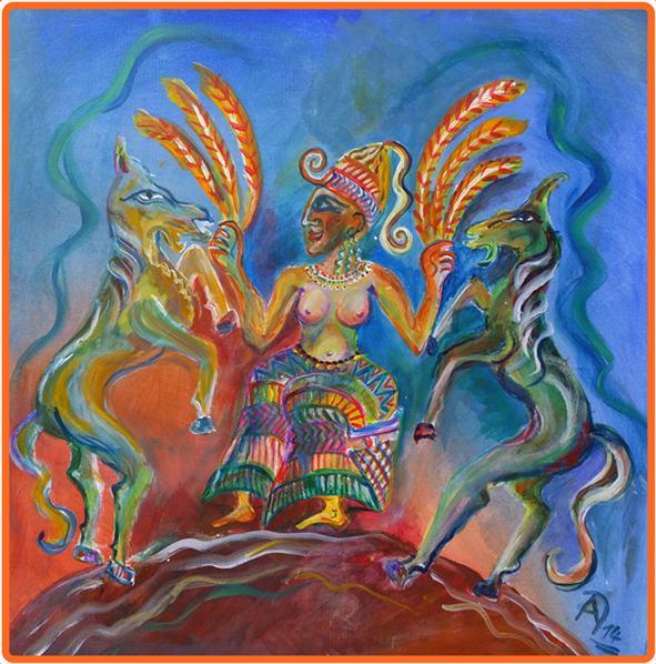 Ascherah – Hebräisch-kaanaitische Urmutter und Fruchtbarkeitsgöttin