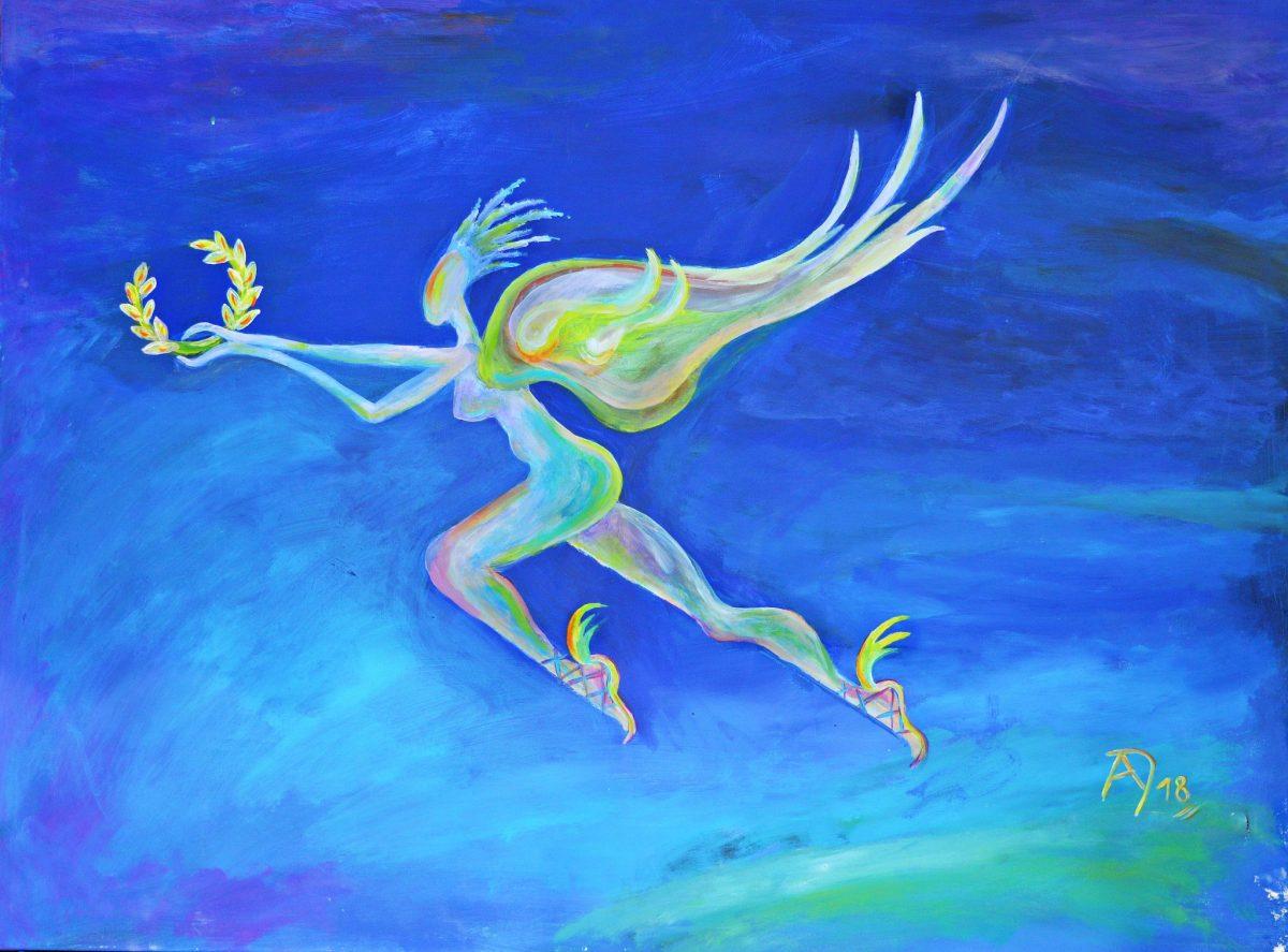 Nike - Griechische Göttin, die den Sieg verkörpert, Personifikation des irdischen Ruhms