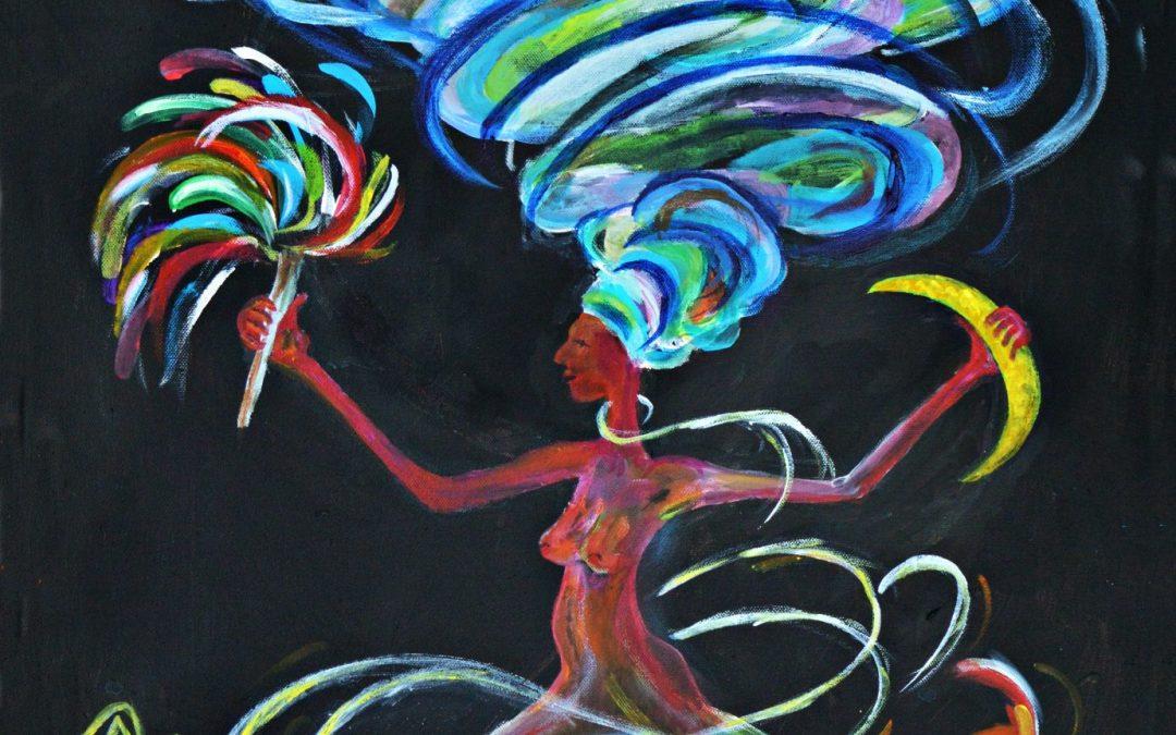 Oya – Yoruba-Göttin der Elemente,  der Transformation und des Wachstums