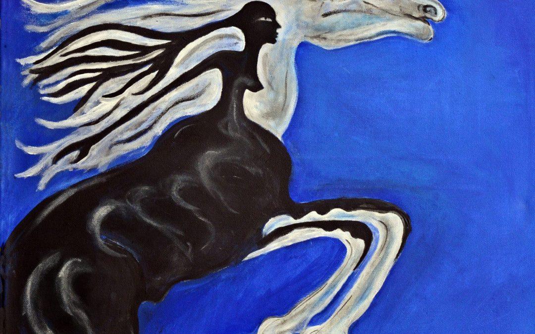 Rhiannon – Keltisch-walisische Göttin der Pferde und der Anderswelt