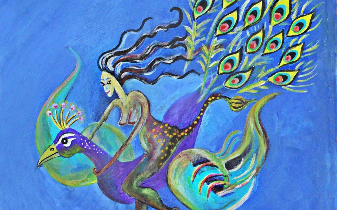 Xīwángmǔ – Chinesisch, taoistische Göttin des Westens und der Unsterblichkeit