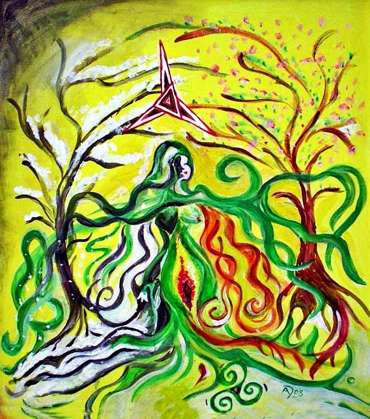 Brigid - Irisch-keltische Lichtgöttin und Göttin des Frühlings und des Feuers