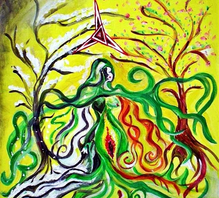 Brigid – Irisch-keltische Lichtgöttin und Göttin des Frühlings und des Feuers