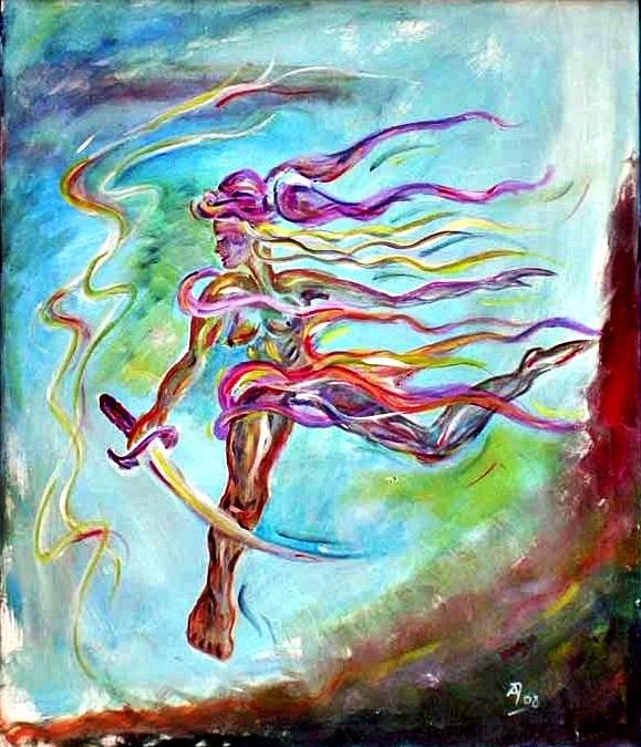 Iansã – Yoruba-Göttin der Sonne, des Windes und Unwetters sowie des Krieges