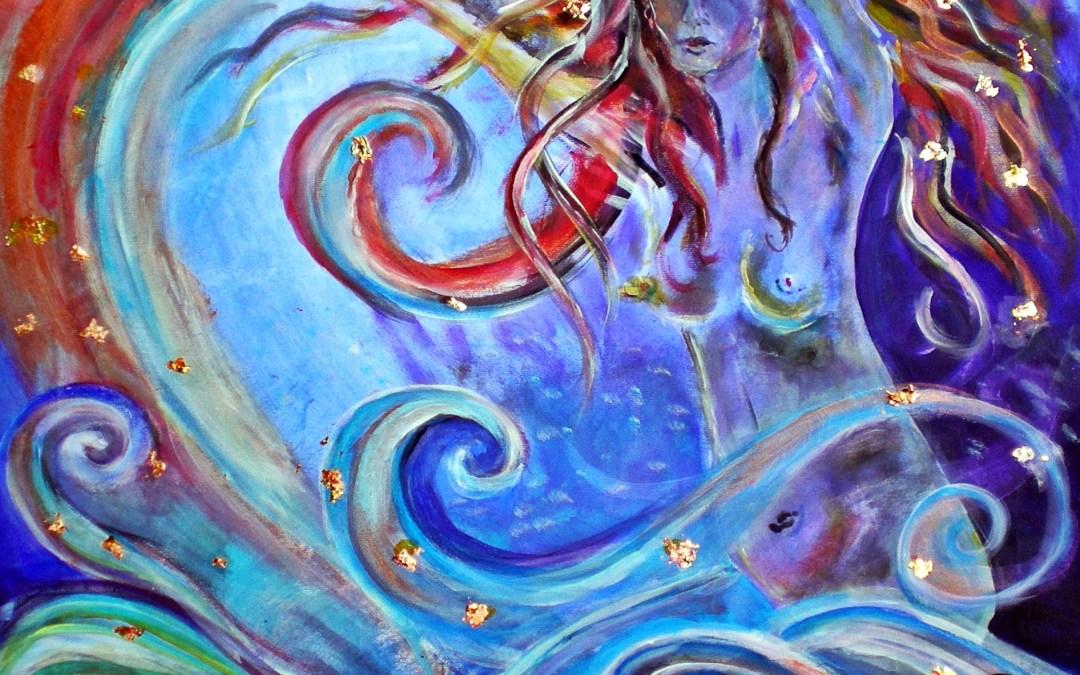 Juras mate – Lettische bzw. litauische Göttin des Meeres und des Wassers und des heilenden Zaubers