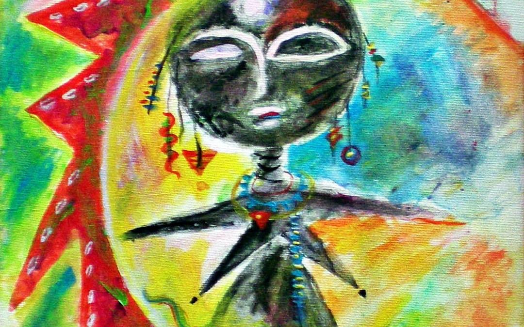 akua'ba – Fruchtbarkeitsgöttin der Ashanti