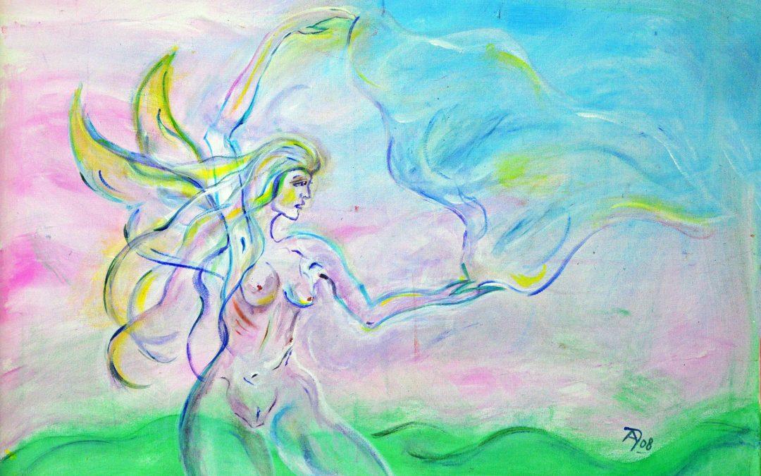 Alpan – Etruskische Göttin des Schicksals, der Liebe, der Kunst der Sexualität und Unterwelt