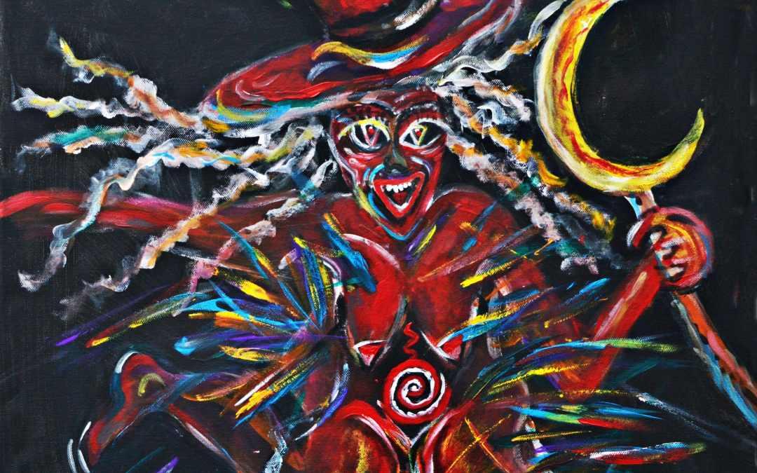 Blutige Luz – Alpenländische Rauhnachtsgöttin