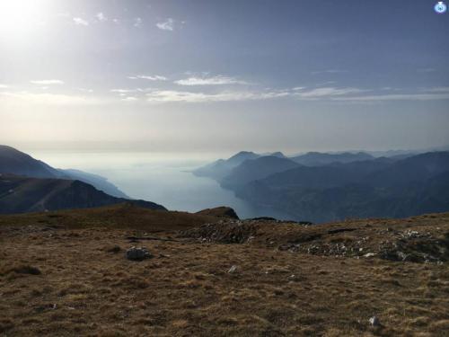 Panorama dal Monte Altissimo di Nago